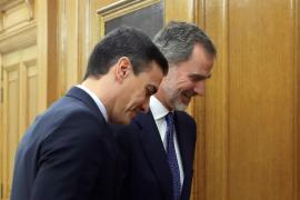 Sánchez acepta el encargo del Rey de formar gobierno
