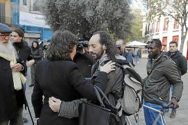 Los antidesahucios denunciarán la actuación policial del pasado martes