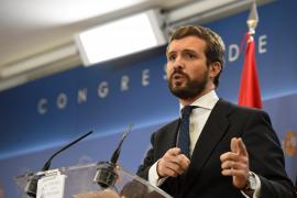 Casado advierte de que si Sánchez fracasa otra vez «debe dejar paso»