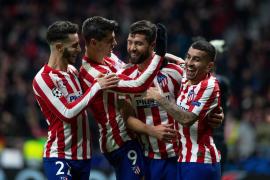 El Atlético pasa a octavos con goles de Joao Félix y Felipe