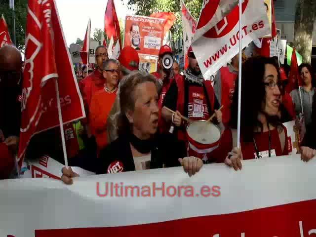Unas 1.500 personas se manifiestan en Palma por la Sanidad y la Educación