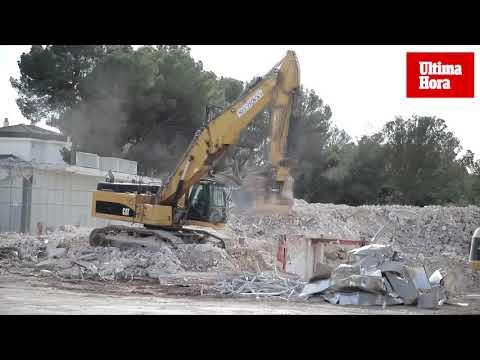 El edificio Materno Infantil de Son Dureta ya no existe