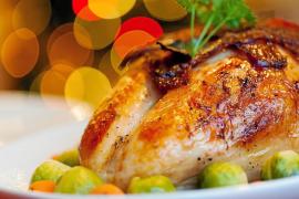 Pavo relleno, una propuesta fácil para la cena de Nochebuena