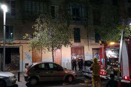 Desalojada la biblioteca de Can Sales por un incendio