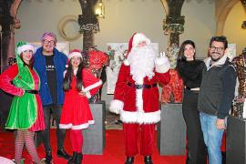 Inauguración del. Mercadillo de Navidad del Pueblo Españo