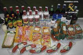 Detienen a seis personas por varios hurtos en supermercados de Llucmajor