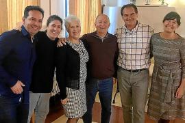 Fiesta por la jubilación de Diego de Castro