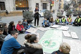Sentada en Cort para expresar la «decepción» por la COP 25