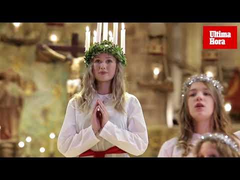 Santa Lucía brilló en la Seu