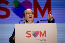 Iceta pide más recursos y respetar el autogobierno de Cataluña como «nación»