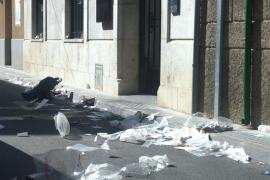 Nefast servei de neteja a Santa Maria del Camí