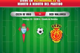 Así se ha vivido el Celta-Real Mallorca