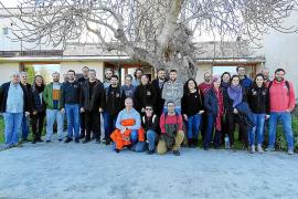 Ocho mujeres y nueve hombres se forman para ser Baciner, Sant Antoni y Dimoni en Manacor