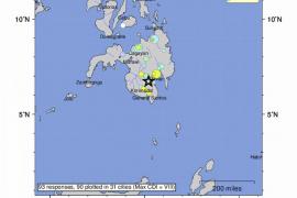 Fallece una menor y otras 14 personas resultan heridas en un terremoto en Filipinas