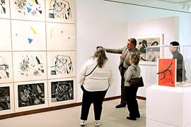 La obra más mallorquina de Miró se expone en Washington hasta junio