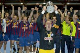 El Barcelona de balonmano revalida el título tras derrotar en la prórroga al Ademar