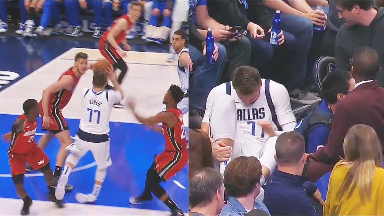 Escalofriante lesión de Doncic en la NBA