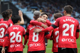 El Mallorca empata en Vigo y se mantiene fuera del descenso