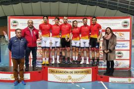 La selección balear destaca en la Copa de España de Pista
