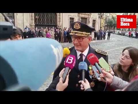 José Luis Carque: «He venido a Palma para desarrollar el papel del policía local cercano al ciudadano»