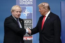 Johnson y Trump abogan por un «ambicioso» acuerdo comercial