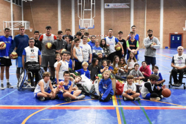 Bàsquet Calvià y Discaesports protagonizan una Diada inclusiva