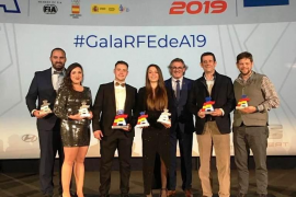 El automovilismo balear brilla en la Gala de Campeones 2019