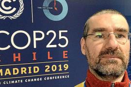 Pau de Vílchez, profesor de la UIB: «Estamos condenados al cambio climático; nos toca decidir su intensidad»