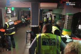 Diez detenidos en un operativo policial en locales de ocio de Palma
