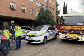 Muere un hombre que trabajaba en una fachada en Madrid