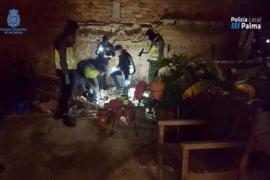 Policía y Policía de Palma desarticulan un punto de venta de drogas «muy activo» en Pere Garau