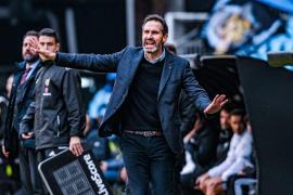 Vicente Moreno espera «un partido difícil» en El Álamo
