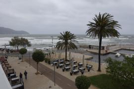 La borrasca Elsa dejará vientos y chubascos fuertes en Mallorca