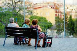Las pensionistas de Baleares también sufren la brecha salarial: cobran un 33 % menos
