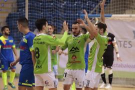 Goleada del Palma Futsal para cerrar el 2019 en Son Moix
