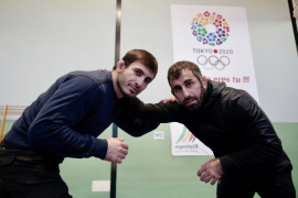 Taimuraz Friev y Levan Metreveli luchan por estar en Tokio 2020