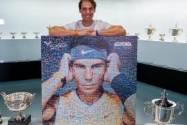 El regalo navideño de los jugadores de la Academia para Rafael Nadal