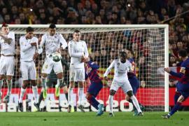 El Barcelona y el Real Madrid empatan en un clásico sin brillo