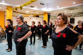 Lección de ritmo en el Llar d'Eivissa, en imágenes. Fotos: Toni P.