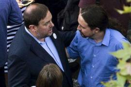 Iglesias critica la judicialización del conflicto catalán