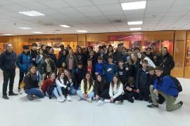 Alumnes de 1er de la ESO de l'IES Manacor, varen a visitar Grup Serra i Son Moix