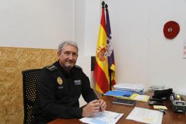 José Luis Carque, jefe de la Policía Local de Palma: «No quiero en esta ciudad una policía de proximidad que sea blanda»