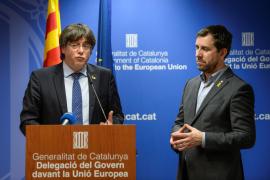 La Eurocámara levanta la prohibición de entrada a Puigdemont y Comín tras la sentencia del TUE