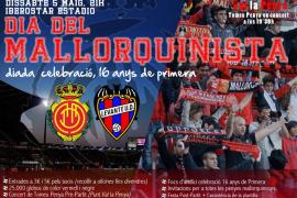 El Mallorca celebrará los 16 años en Primera ante el Levante