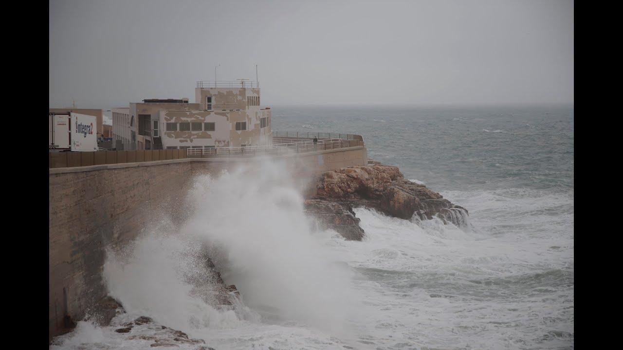 Temporal en Mallorca: Elsa cede y llega Fabien con rachas huracanadas