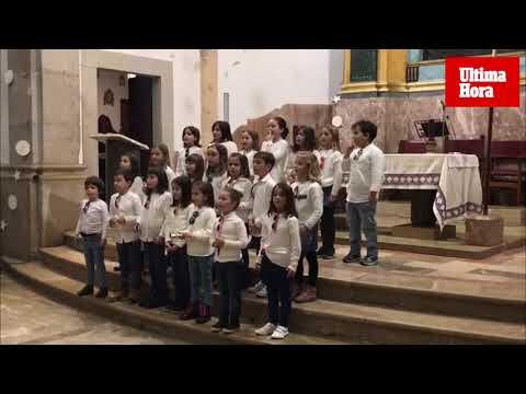 El canto coral alza la voz en el colegio Es Puig de Lloseta