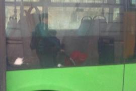 Apedrean uno de los autobuses nuevos de la EMT de Palma