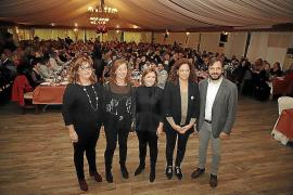 El PSIB homenajea a su militancia y agradece sus tres mayorías electorales