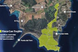 El Consell de Mallorca descarta la compra de una extensa finca virgen en Calvià