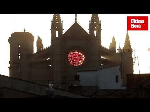 Bellas imágenes del solsticio de invierno en Palma